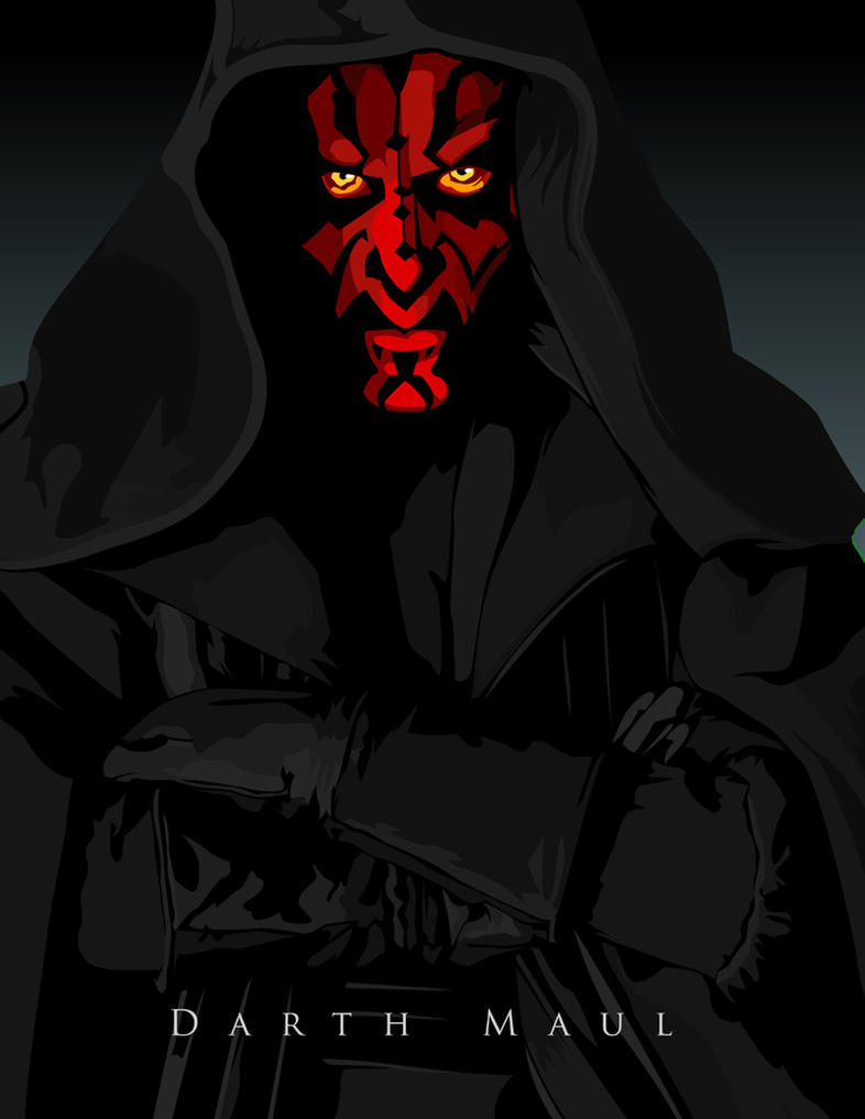 Darth Maul by witchking08
