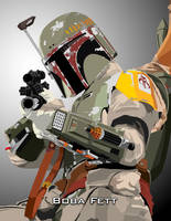 Boba Fett by witchking08