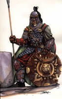 Rohirrim Soldier by witchking08