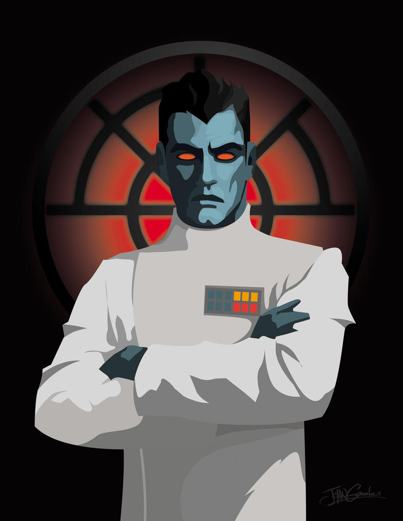 Grand Admiral Thrawn by witchking08