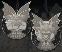 Gargoyle Pins