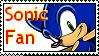 Sonic Fan Stamp by Busiris