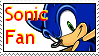 Sonic Fan Stamp by Busiris