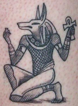 anubis tattoo meaning