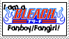 Bleach Fan Stamp