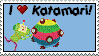 I Heart Katamari Stamp by Busiris