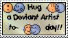 The Hug Stamp by Busiris
