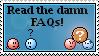 The FAQ stamp by Busiris