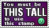 The Tall Stamp by Busiris