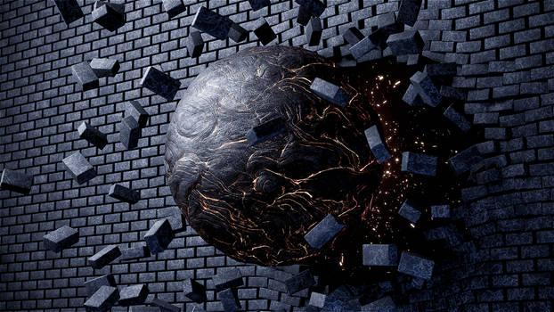 Brick Wall Destruction