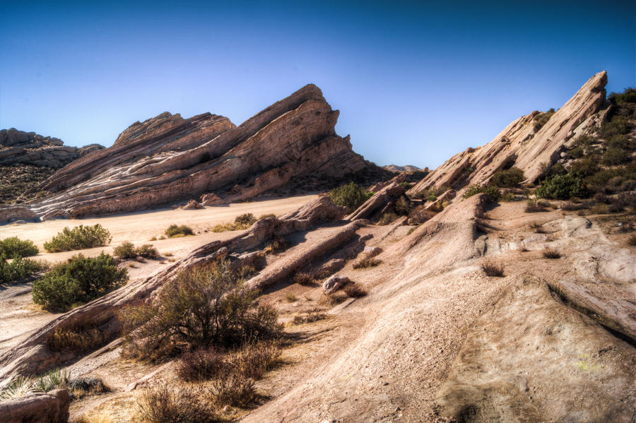 Vasquez Rocks by CryptikFox