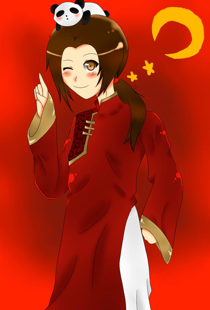 Hetalia China by MoonofTheGothicJinks