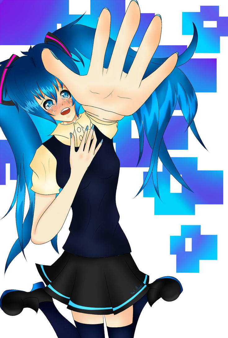 Don't Go  Miku Hatsune by MoonofTheGothicJinks