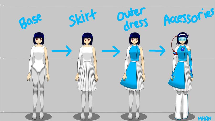 futuristic costume design by hamanomiharu on deviantart