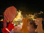 Simba and his friends watch spectromagic