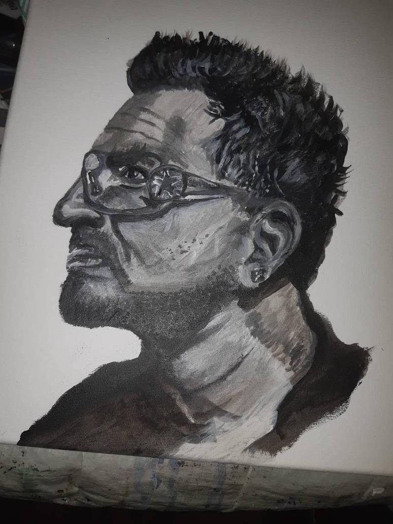 Bono U2 by Scrubs3