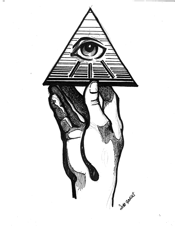 Holding The All Seeing Eye 2 By O B S E R V