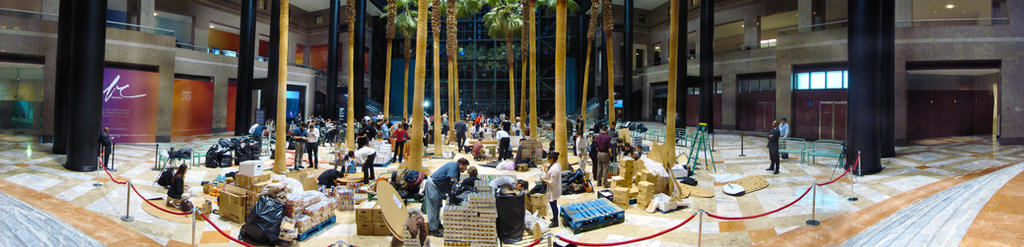 CANstruction Panoramic by O-b-s-e-r-v-e-R