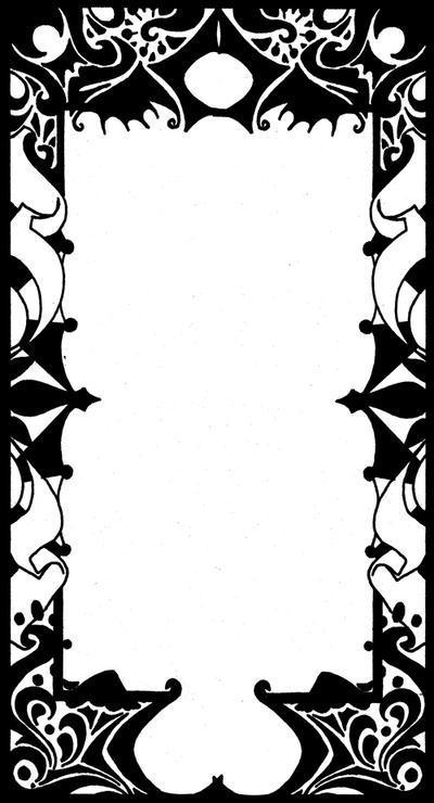 tarot border by sylentskye on deviantart. Black Bedroom Furniture Sets. Home Design Ideas