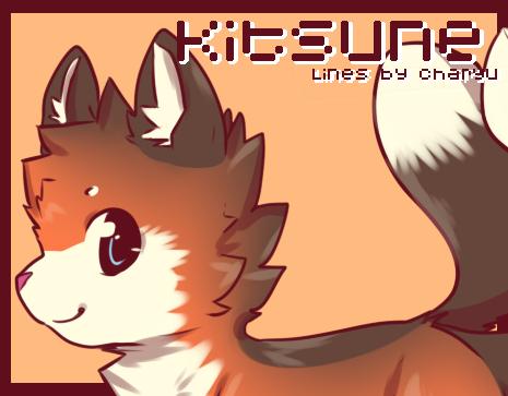 Kitsune Lines psd [P2U] by Charyu