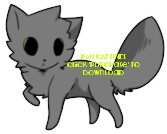 P2U Cat Lines PSD 3 by Charyu