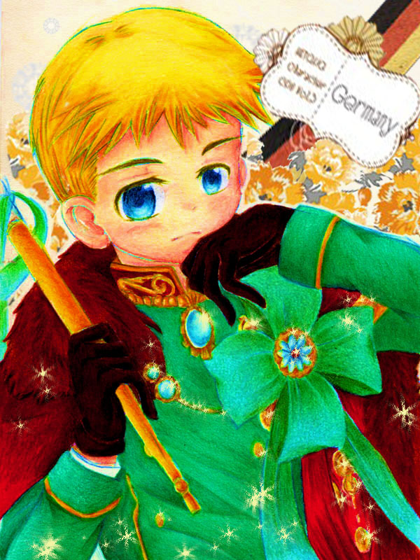 APH - Chibi Germany Character CD II by black-wolf-tala