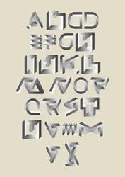 Typographisme Escher