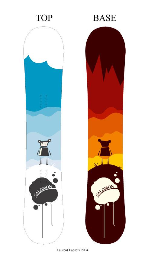 Design Snowboard 02