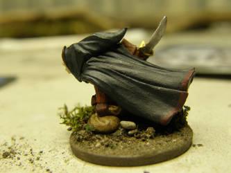 Zan, The Gnome Thief (back) by ArrodisBaletide