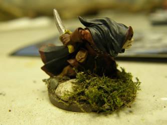 Zan, The Gnome Thief (Side) by ArrodisBaletide