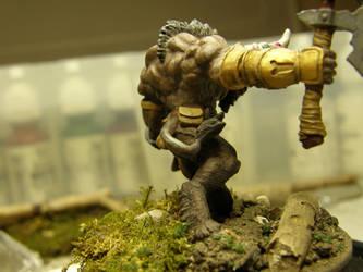 The Minotaur (Back) by ArrodisBaletide