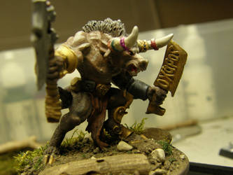 The Minotaur (side front) by ArrodisBaletide