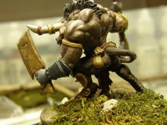 The Minotaur (Side Back) by ArrodisBaletide