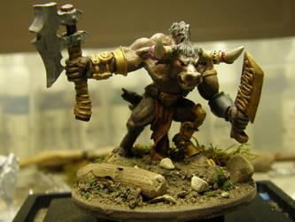 The Minotaur (Front) by ArrodisBaletide