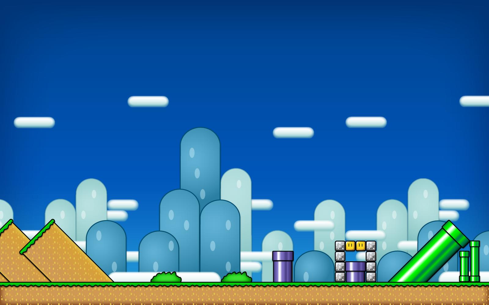 Super Wallpaper Mario by savedforarainyday on DeviantArt