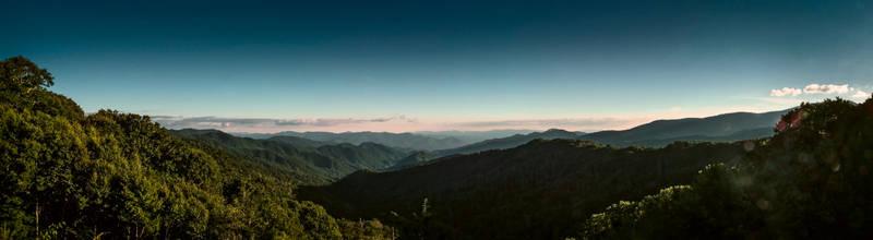 North Carolina Smokies Panorama