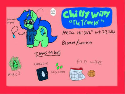 new ref sheet  by Chilly--Willy