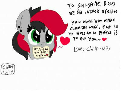 Happy hearts and hooves day by Chilly--Willy
