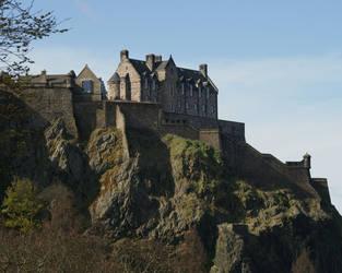 Edinburgh Castle by bobcraton
