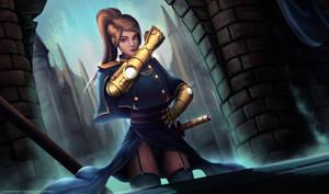 Steampunk Magical Girl