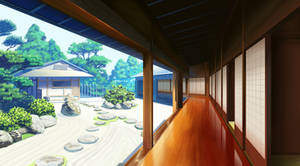 Anime Background Study 9