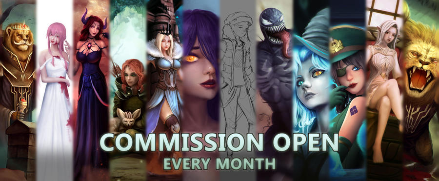 Commission Open