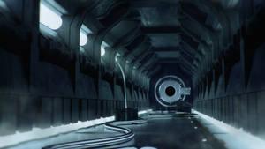 hallway scifi