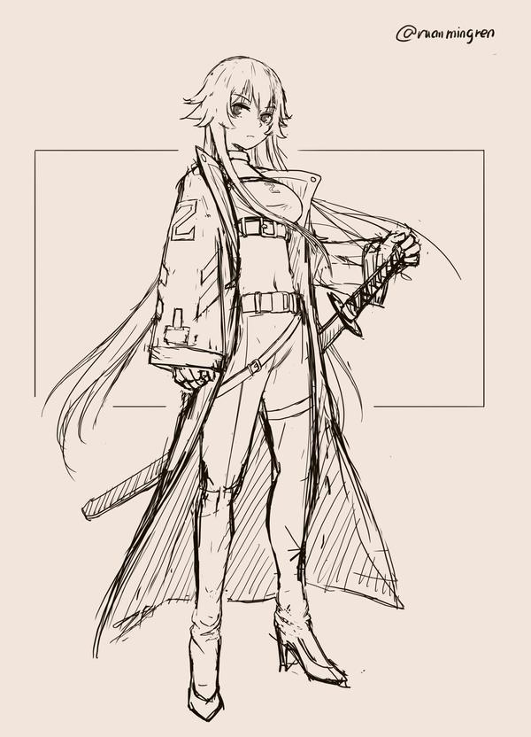 Waifu Sketching 06