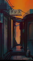 Landsketching - The Alley