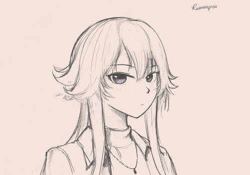 Waifu Sketching 24