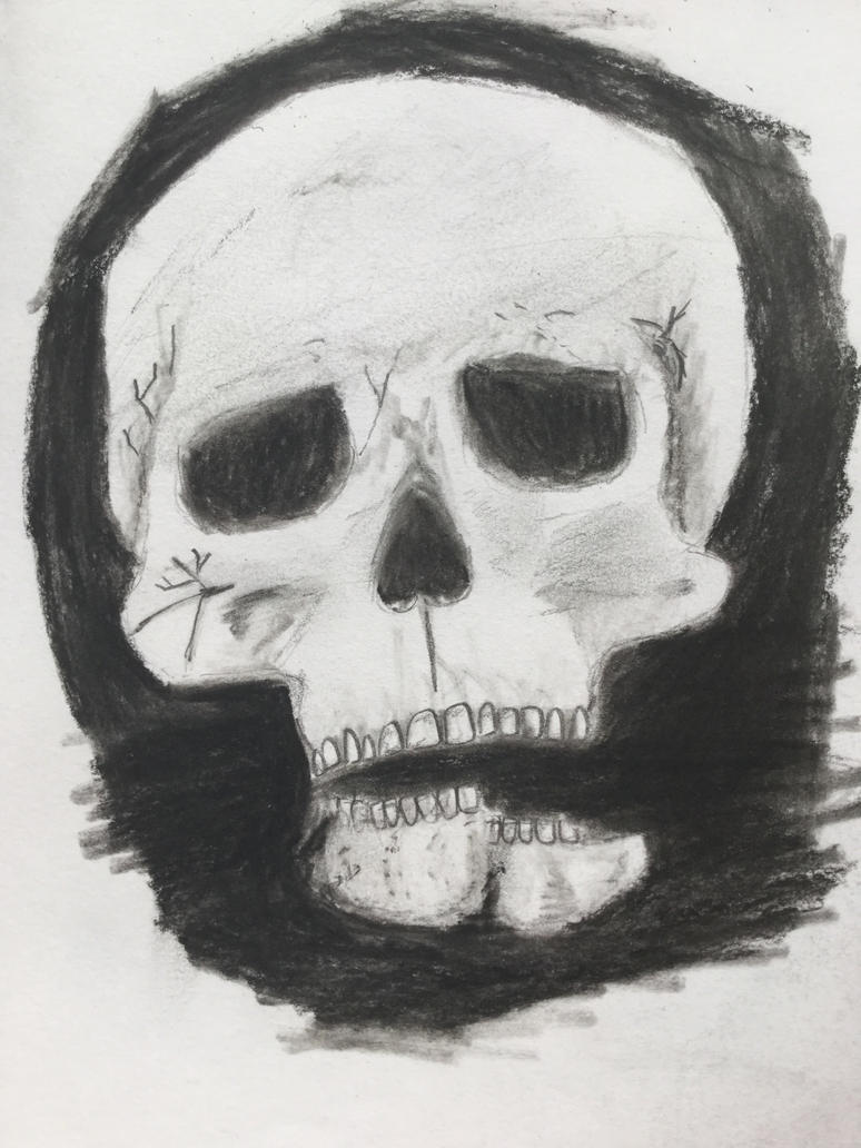 Shadow skull by solilly