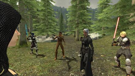 Vaylin encounters the Alliance Commander by GmodJo