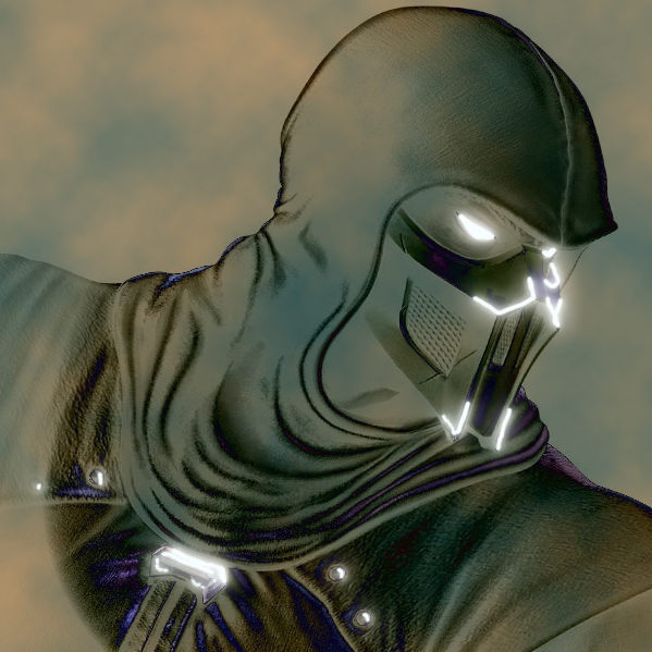 how to draw noob saibot