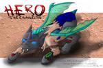 Giveaway Prize Art: Anubis' Hero (Changeling)